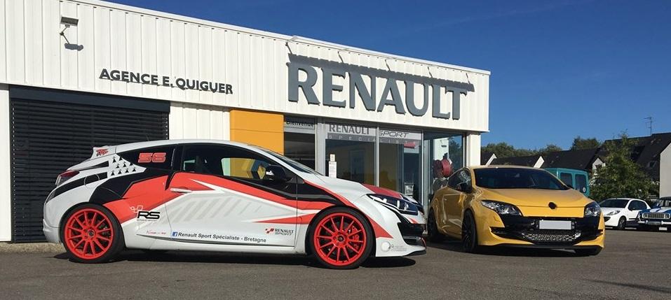 Découverte Dun Garage Renault Sport Banc Dessai Alpine